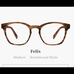 Warby Parker Non RX FELIX Frames NEW